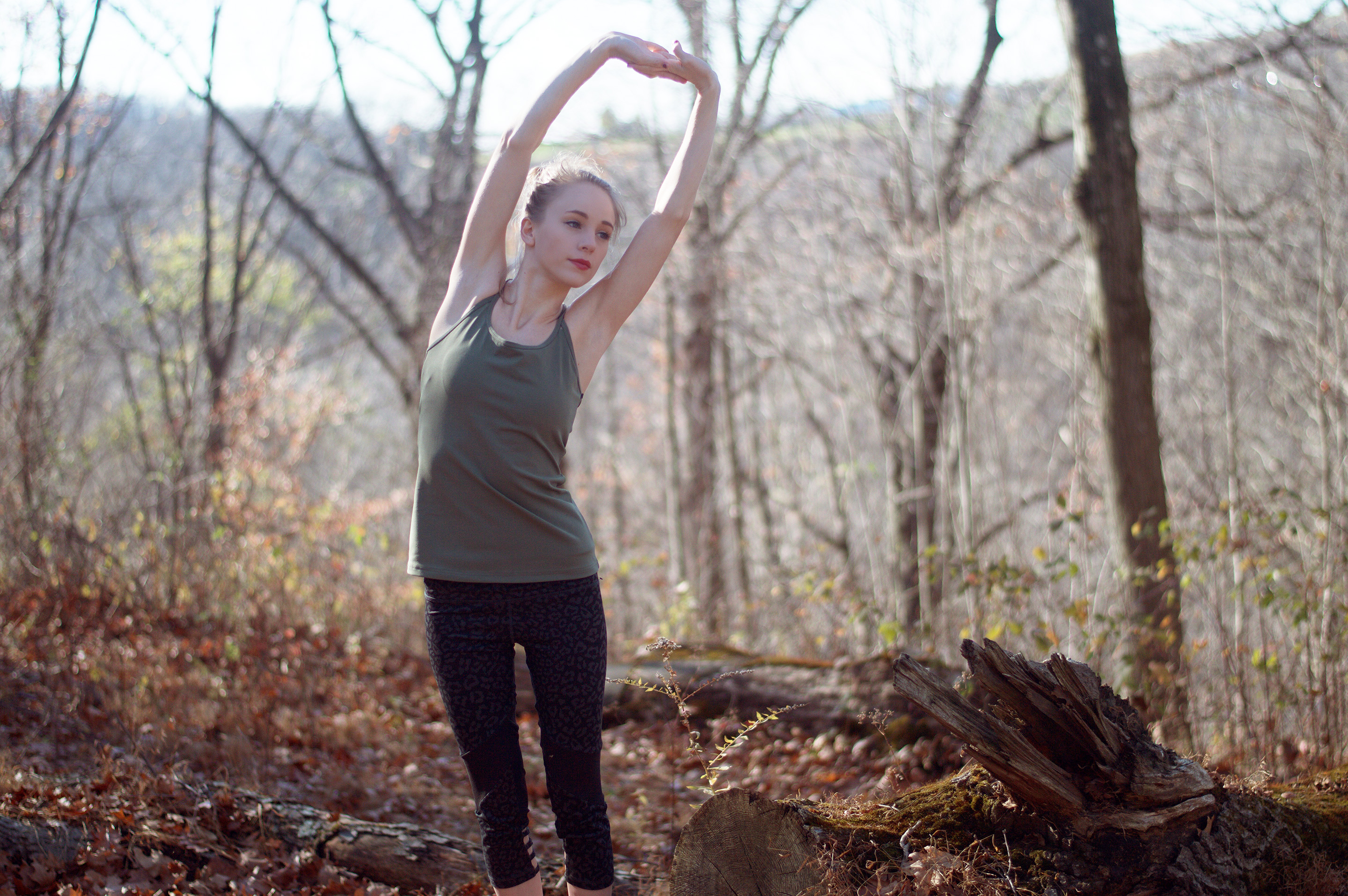 Workout Clothing Subscription worn by Fashion Blogger Rachael Burgess