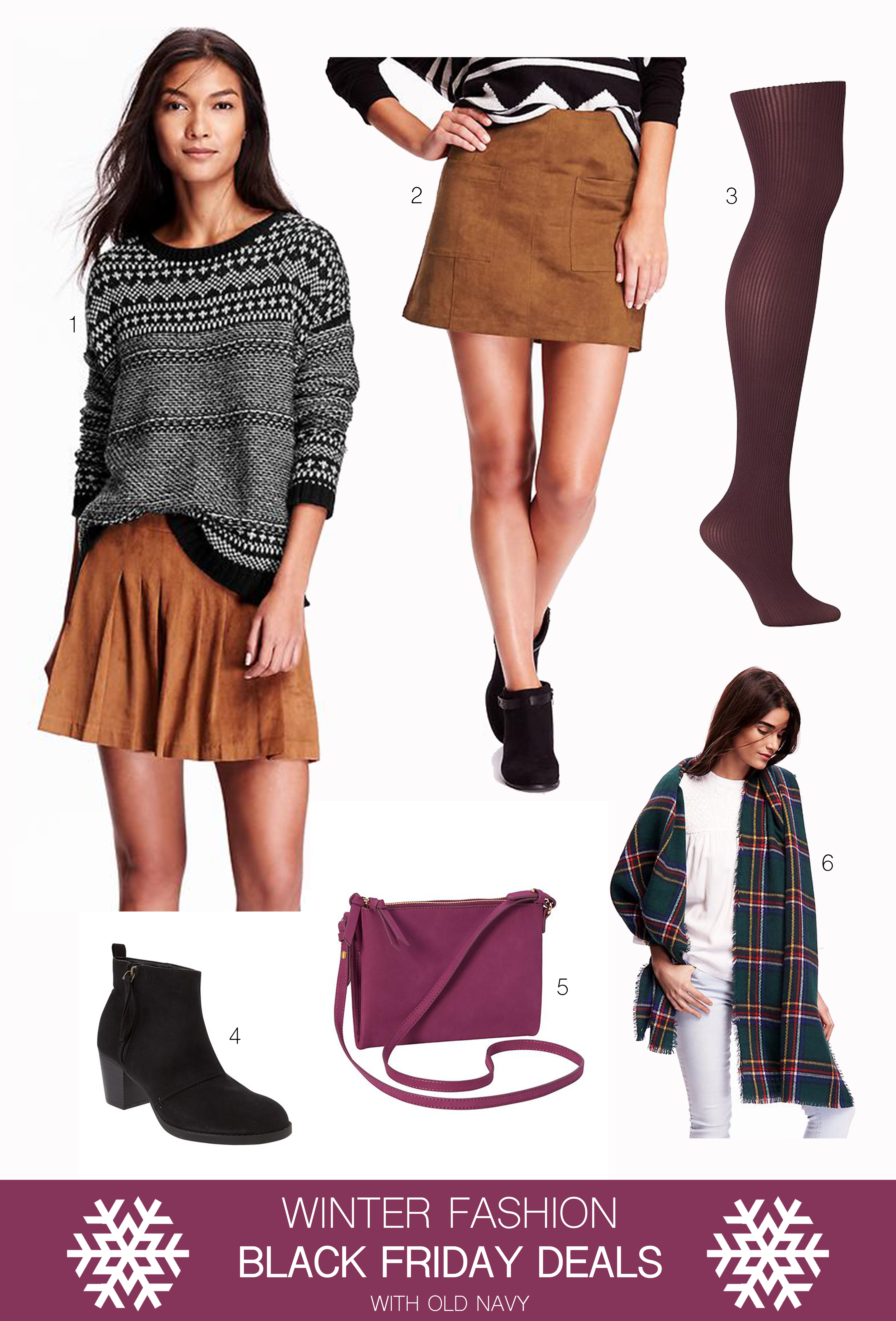 Winter Fashion Black Friday Deals at Old Navy Curated by Fashion Music Blogger Rachael Burgess