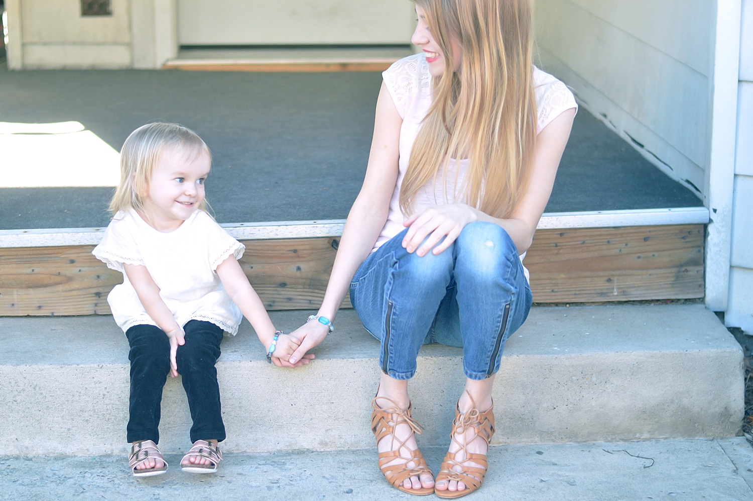 How to make mommy & me friendship bracelets with Rachael Burgess