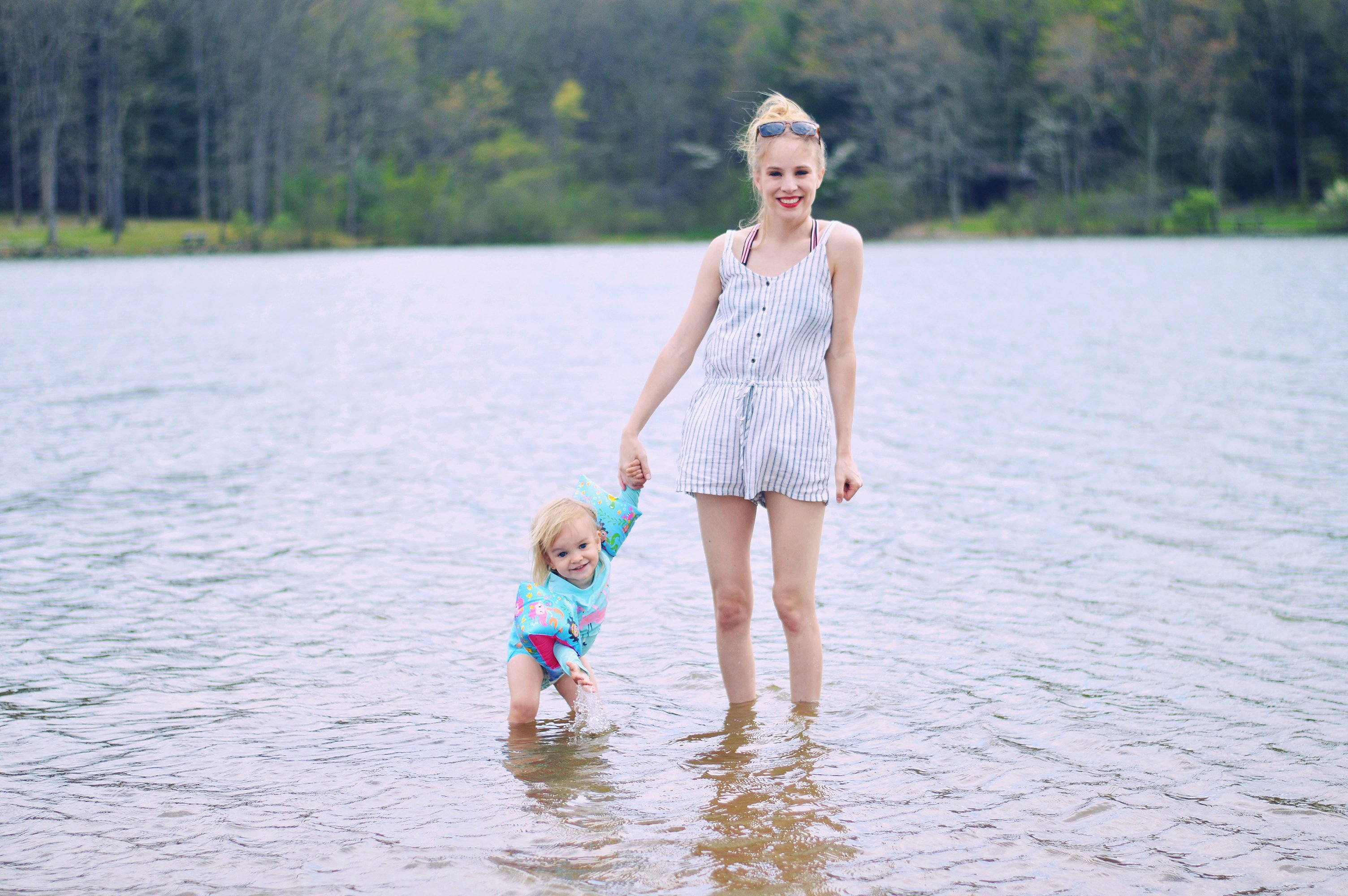 5 ways to encourage your toddler to get in the water this summer with Rachael Burgess