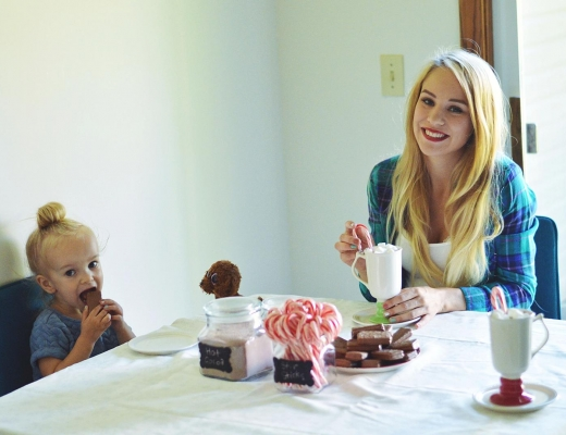 How To Create A Hot Cocoa Bar by Lifestyle Blogger Rachael Burgess
