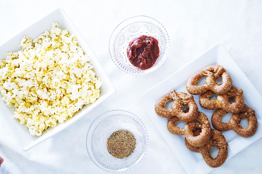 How To Entertain Your Toddler During The Big Game + A Simple BBQ Popcorn Flavor & Dip Recipe by Rachael Burgess