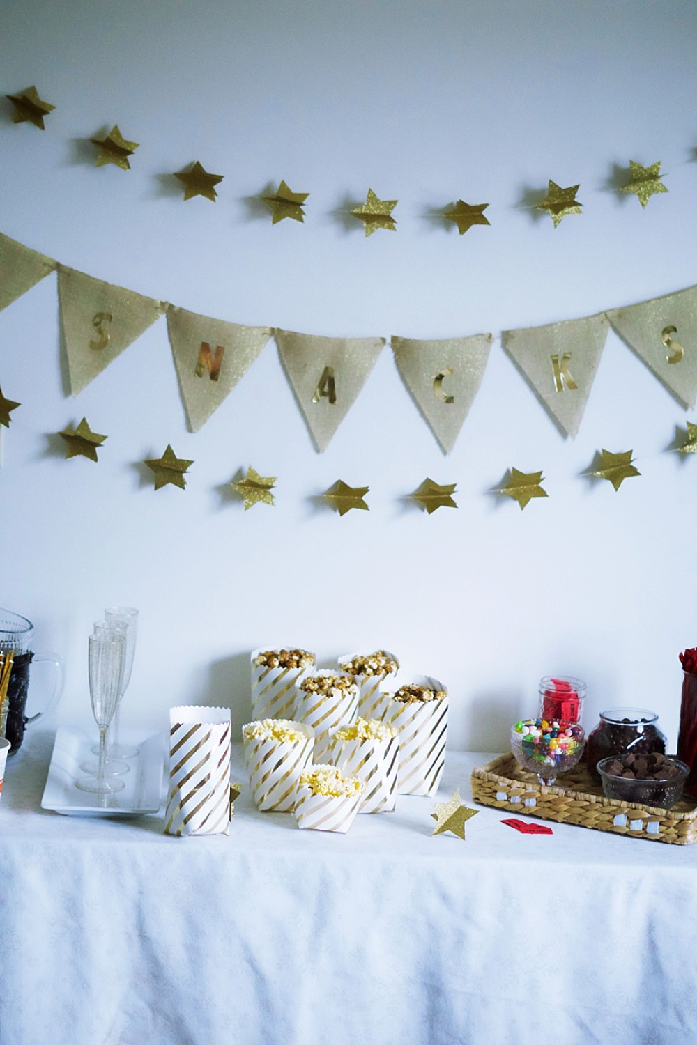 Family Movie Night Party with a DIY Concession Stand by Rachael Burgess