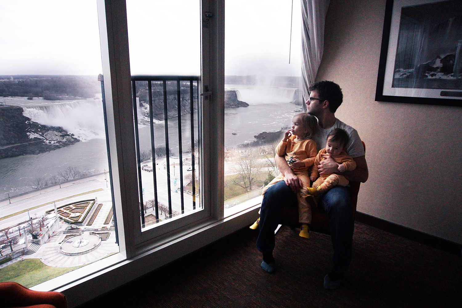 Our Stay at The Sheraton on the Falls at Niagara Falls by Rachael Burgess