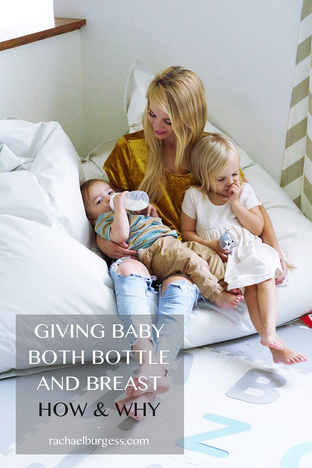 Both Bottle and Breastfeed | Rachael Burgess